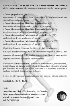 Tecniche per la lavorazione artistica della carta – armata, del cartone – romano, della carta – pesta