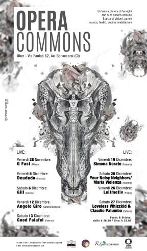 Opera Commons / Rassegna musicale