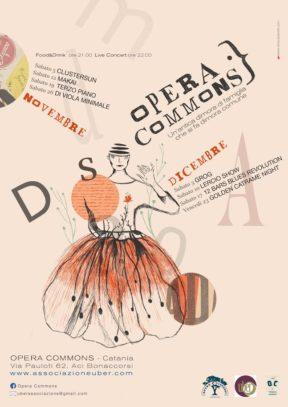 """Sabato 5/11 tra cuore, suolo e costellazione riparte """"Opera Commons"""" (Digressione 66) di Salvatore massimo Fazio"""