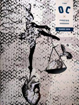 'OC Press come serpente mi presento' Nota editoriale di Salvatore Massimo Fazio – Illustrazione Copertina di Laura D'Agate