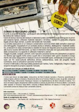 Corso di Restauro Ligneo – Opera Commons