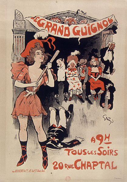Le Grand Guignol – Illustrazione d'epoca
