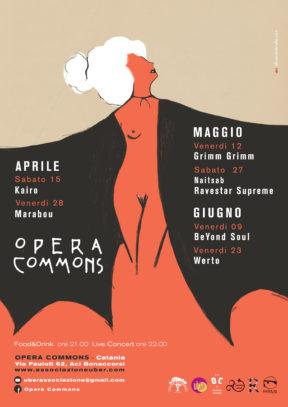 Rassegna Opera Commons: Aprile-Maggio-Giugno 2017