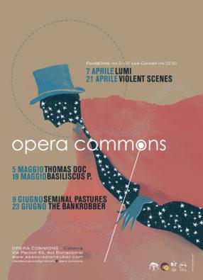 Opera Commons: Lumi + King Of Sad Flowers Area Visual: Daniele Vita + Raffaele Auteri 07/04/2018