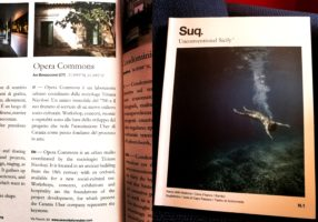 Opera Commons inserita da Suq Magazine nella rubrica speciale 'Il Network della bellezza'